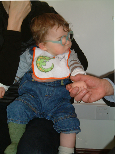 Child Having a Treatment